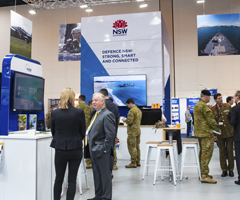 Defence NSW stand at Land Forces 2018http://www.business.nsw.gov.au/__data/assets/image/0005/262652/Land-Forces-2018-NSW-stand-240x200px.jpg