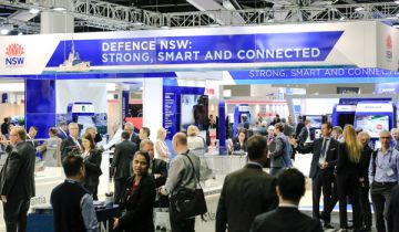 NSW Defence Stand at PACIFIC 2017