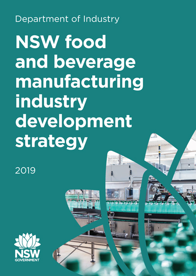 NSW food and beverage industry development strategy