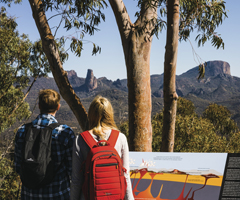 Couple in Warrumbungle National Park