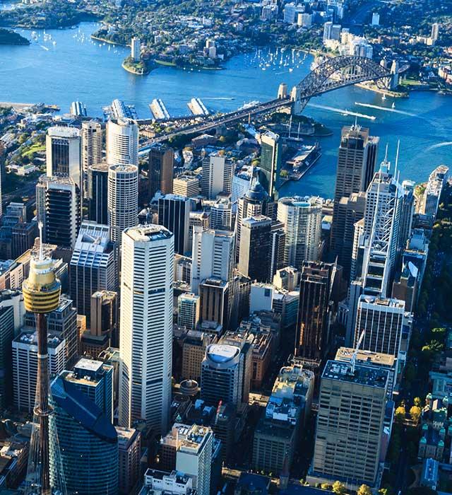 Sydney CBD Aerial