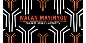 Charles Sturt University Walan Mayinygu logo
