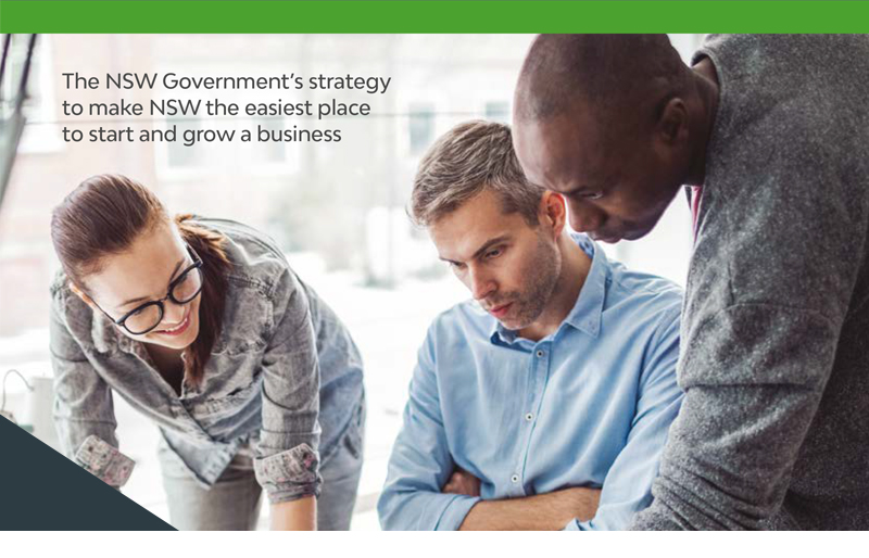 The NSW Government's strategy to make NSW the easiest place to start and grow a business