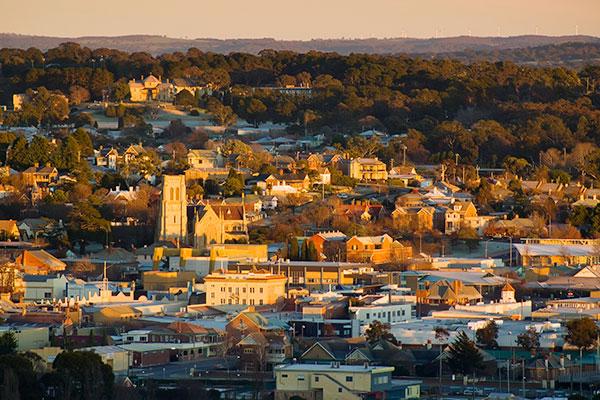 Town in regional NSW