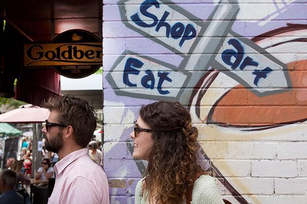 Shop, Art, Eat