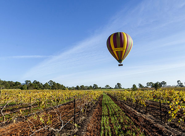 Ballooning in the Hunter Valley